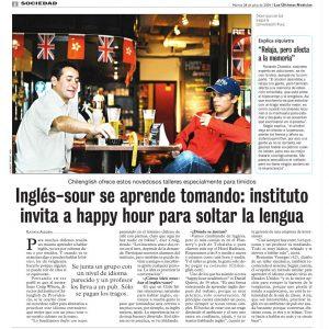 reportaje las ultimas noticias Chilenglish 2009,